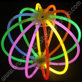 Sphères Fluo Unicolores (8 u.)