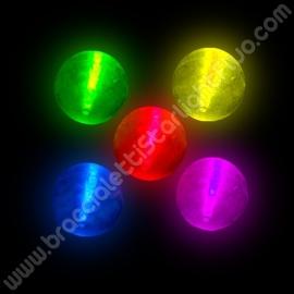 Balles fluo en Gomme (2 u.)