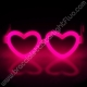 Lunettes Fluo Coeur à l' engros