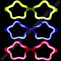Lunettes Fluo Etoile à l' engros