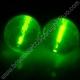 Balles fluo en Gomme
