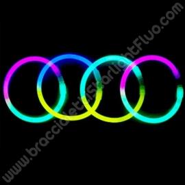 Bracelets Lumineux Bicolores (100 u.)