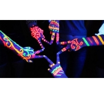 Peinture Fluorescente UV